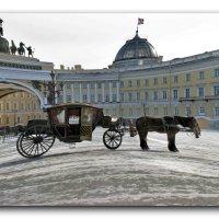 В ожидании на Дворцовой площади :: Наталья