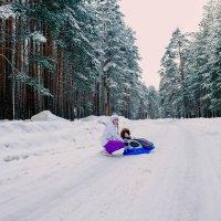 Настоящая зима только в лесу :: Дмитрий Колесников