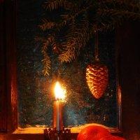 Свеча горела на окне. :: Лара Гамильтон
