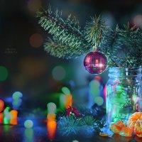 Новогодний натюрморт :: Оксана Анисимова