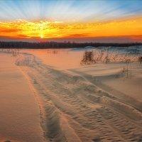 Зимние, вечерние краски... :: Александр Никитинский