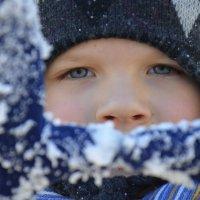 Никита рад снегу! :: Оля Богданович