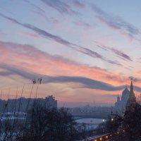 Закат 09.01.2017 :: Илья Сердитов