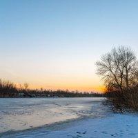 Зимний закат. :: Владимир