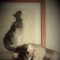 Портрет котов :: Людмила Монахова