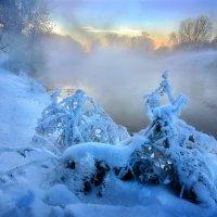 Морозный закат января...4. :: Андрей Войцехов