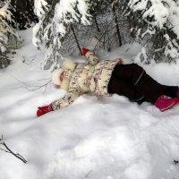 Какой снег пушистый! :: Елизавета Успенская