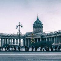 На Невском у Казанского собора всё как и раньше... :: Сергей В. Комаров