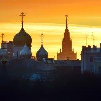 Московские силуэты :: Olcen - Ольга Лён