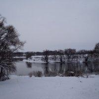 Река Москва в Коломне в январе. :: Ольга Кривых