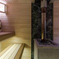 Парилка в бане (Красный) :: Александр Шамов