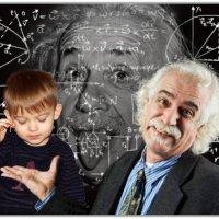 Ну какой умный мальчик. Давай знакомиться-Эйнштейн...Альберт. :: Anatol Livtsov