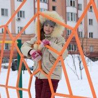Настенька в зимней паутине :: Анна Шишалова