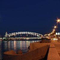 Петра Великого (Большеохтинский) мост. С-Пб. :: Oleg