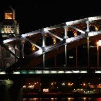 Фрагмент моста Петра Великого :: Oleg