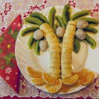 Украшение новогоднего стола :: Ольга Дядченко