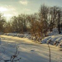 Речка Яхрома зимой. :: Анатолий. Chesnavik.