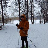 Не поверите - первый раз в жизни (!) на лыжах :: Андрей Лукьянов