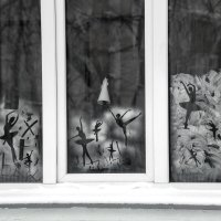 Рисунки на окнах. :: Анатолий. Chesnavik.