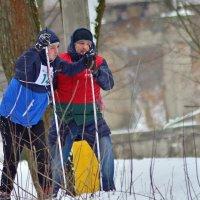 На лыжне.. :: Юрий Анипов