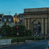 Бордо. Бургундские ворота. Вечер. :: Надежда Лаптева