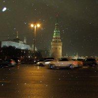 Снежный вечер :: Татьяна Осипова(Deni2048)