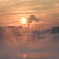 Морозным вечером у моста :: cfysx