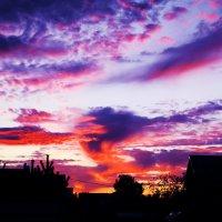 Небо на закате... :: Любовь