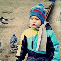 Хочу по крышам бегать голубей гонять... :: Любовь