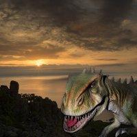 Из жизни диназавров. :: Поток