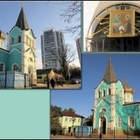 Свято-Онуфриевский храм в Анапе :: Нина Бутко