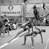 Турнир имени Василия Мачуги по акробатике в Краснодаре. :: Андрей Фиронов