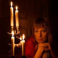 При свечах :: Олег Дурнов