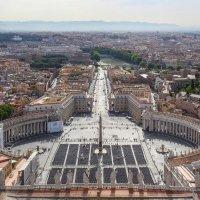 Площадь Святого Петра в Риме :: Владимир Леликов