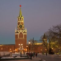 Кремль.Москва вечер. :: юрий макаров
