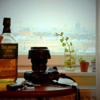 С видом на Исаакий / Одно январское утро в Санкт-Петербурге :: Виктор | Индеец Острие Бревна