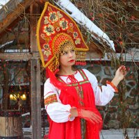 Царевна в усадьбе :: Виолетта Бычкова