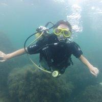 Отдых на море, Крым. Дайвинг. Подводная съёмка-7. :: Руслан Грицунь