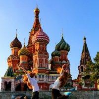 Москва, цвет Рыжий :: Анатолий Шулков