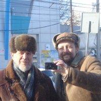 Зеркальный автопортрет отца и сына :: Алекс Аро Аро