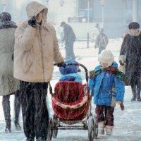 """""""А снег идёт....."""" :: Ольга Лиманская"""
