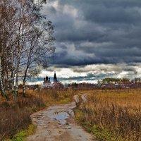 Дорога к храму :: Елена Малкова