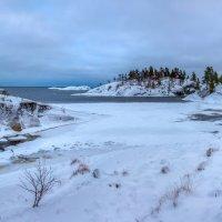 Зимняя панорама островов Ладоги. :: Фёдор. Лашков