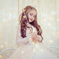 Новогодняя фотосессия девочки :: марина алексеева