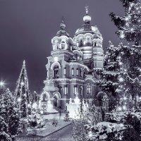 Церковь в Крещение :: Алексей Белик