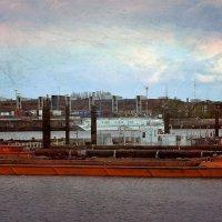 Оранжевая баржа :: Nina Yudicheva