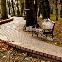дорожка осеннего парка :: Александр Прокудин