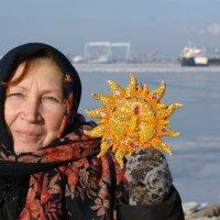 Мадам Ермачкова и Солнце... :: Сергей Порфирьев