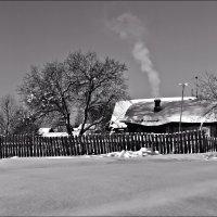Зимой в деревне :: Leonid Rutov