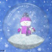 Снежный шар :: Наталья (ShadeNataly) Мельник